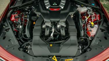 Alfa Romeo Giulia Quadrifoglio engine