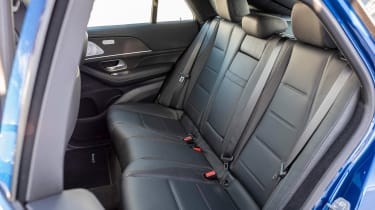 Mercedes GLE Coupe SUV rear seats