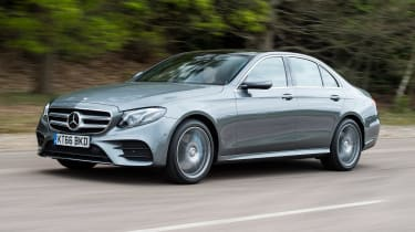 The E350e is the plug-in hybrid model of the Mercedes E-Class range