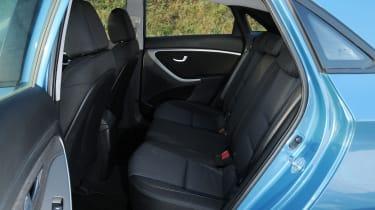Hyundai i30 - rear seats