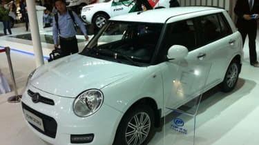 ...but the Lifan's interior puts you in no doubt as to what its designers were 'inspired' by.