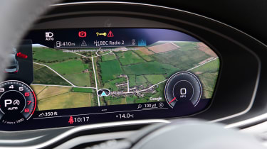 Audi A5 Coupe Virtual Cockpit