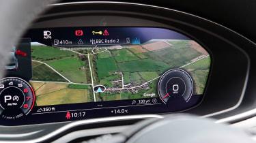 Audi A5 Coupe Virtual Cockpit