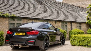 BMW M4 Coupe rear 3/4 static