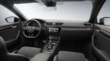 2019 Skoda Superb Sportline - interior