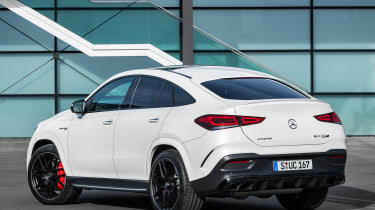 2020 Mercedes-AMG GLE 63 S Coupe rear 3/4 static