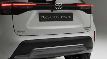Toyota Yaris Cross Dynamic - rear close up view