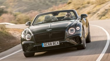 Bentley Continental GT Convertible front cornering