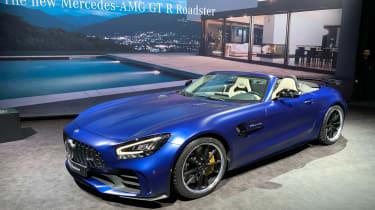 Mercedes-AMG GT R Roadster Geneva Motor Show 2019 front quarter