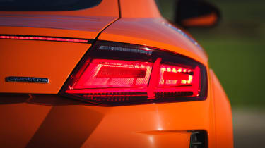 Audi TT Coupe rear light