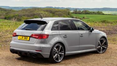 Audi RS3 rear 3/4 static