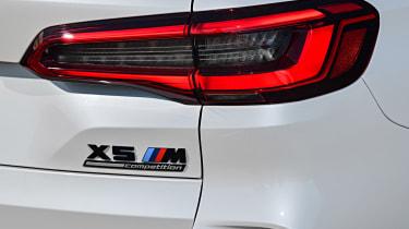BMW X5 M SUV rear lights