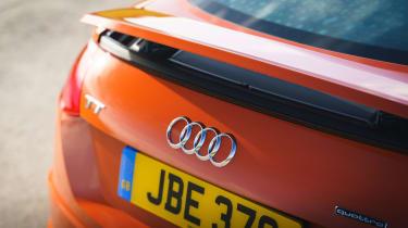 Audi TT Coupe rear spoiler