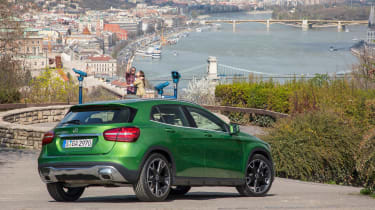 It's a rival to models like the BMW X1, Audi Q3, MINI Countryman and Range Rover Evoque