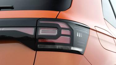 Volkswagen T-Cross SUV rear light cluster