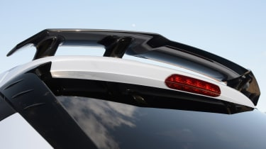 Hyundai i20 N hatchback rear spoiler