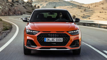 Audi A1 Citycarver driving - front view