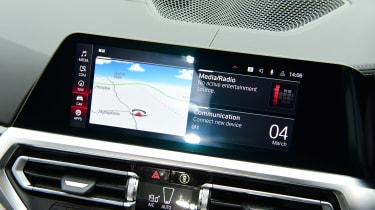 BMW M3 Competition saloon - infotainment