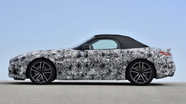 BMW says the body of the new Z4 is very stiff in order to aid handling.