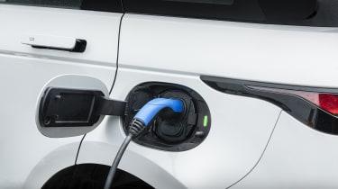 Range Rover Evoque P300e charging port