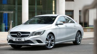 The CLA can be specified with either a manual or automatic gearbox