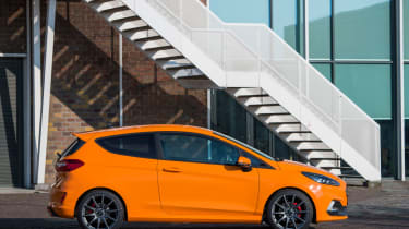 Ford Fiesta ST Performance Edition side static