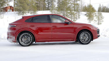 Porsche Cayenne Coupe GTS - side view