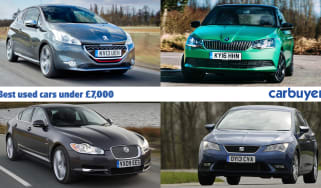 Best used cars for £7,000 header
