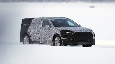 Ford Mondeo SUV prototype