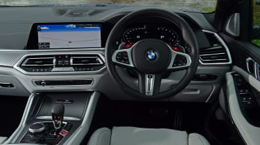 BMW X5 M Competition SUV interior