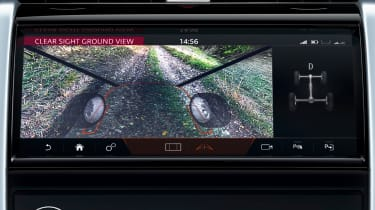 Land Rover Discovery Sport SUV infotainment display