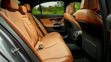 Mercedes C-Class saloon rear seats