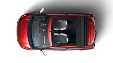 Citroën C1 Urban Ride - above view