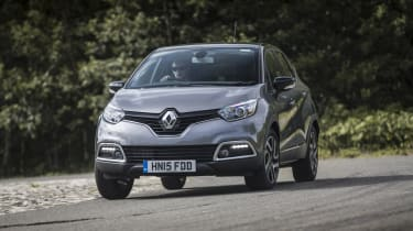 While it's very good to drive on motorways, the Captur isn't so good on country roads, leaning into corners and lacking feel through the steering.