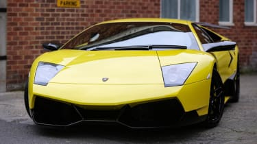 The Murcielago was the first car made by Lamborghini after it was acquired by Volkswagen