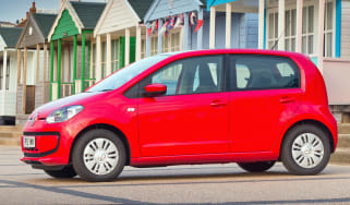 Volkswagen up hatchback 2013 side static