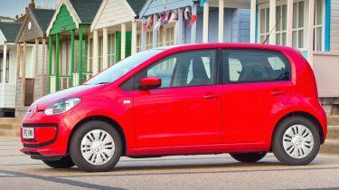 Volkswagen up hatchback 2013 side static