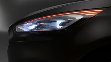 Ford S-MAX 2015 headlights
