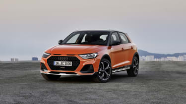 Audi A1 Citycarver static front 3/4