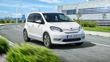 Skoda Citigo e iV - front driving