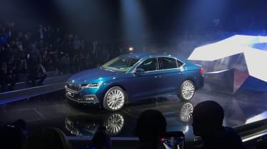 2020 Skoda Octavia hatchback - front view