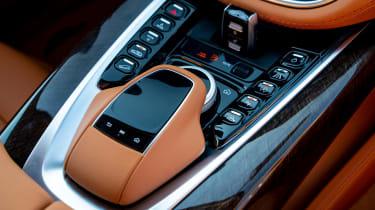 Aston Martin DBX SUV centre console