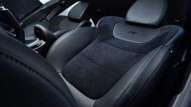 Hyundai Kona N seats