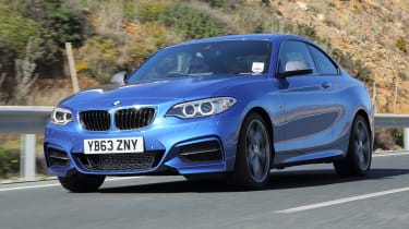 The M240i can rival a Porsche 718 Cayman with its 4.8 second 0-62mph time