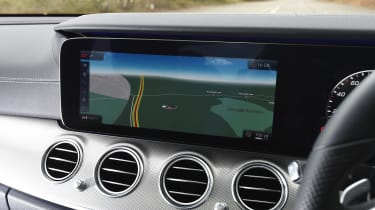Infotainment features include 3D mapping, DAB radio, Bluetooth connectivity and online services.