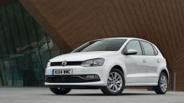With a 280-litre boot, the Polo slightly beats the Fiesta for space (276 litres), and isn't far off the Corsa (285 litres)
