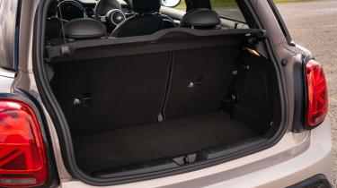 2021 MINI hatchback boot
