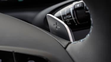 Hyundai Tucson SUV gear paddles