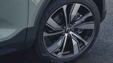 Volvo XC40 Recharge P8 SUV alloy wheels