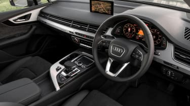 Among the largest hybrids on sale, the Q7 e-tron is almost as practical as its petrol and diesel-powered counterparts